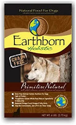 Earthborn Holistic Dog Food Primitive Natural 6 lbs