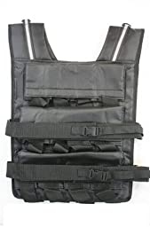 Mountaineer 70 Lbs Weight Vest, Weights Included, 24 Bags of Removable Weights
