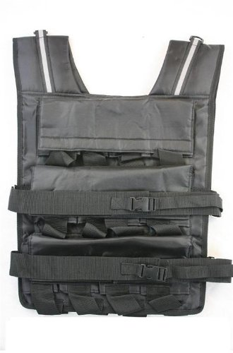 Mountaineer 70 Lbs Weight Vest, Weights Included, 24 Bags of Removable Weights by Mountaineer
