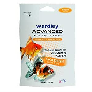 Hartz Wardley Advanced Nutrition Small Goldfish Pellet, 3-1/2-Ounce