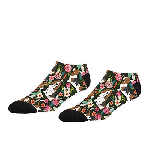 Tronet Casual Socks/A Pairs Colorful Cut Print Compression Boat Socks Soccer Socks Socks Low Socks