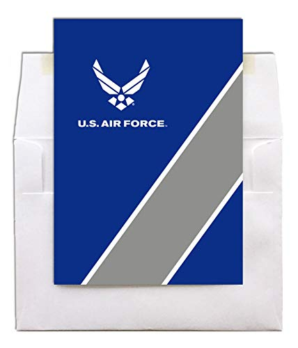 - Look Good - US Air Force Encouragement Greeting Card With Envelope - 5x7 - by 2MyHero