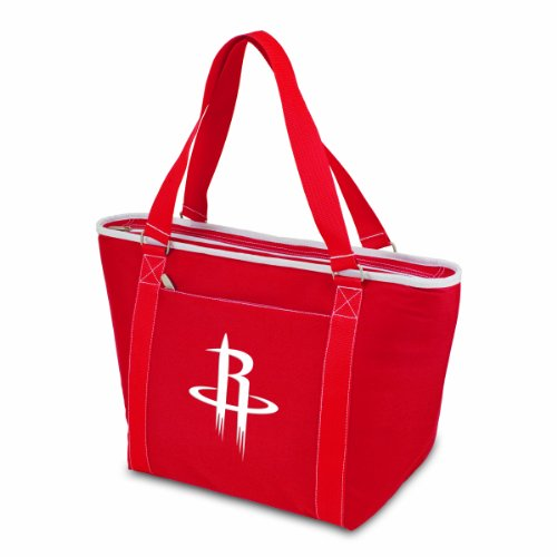 PICNIC TIME NBA Houston Rockets Topanga Insulated Cooler Tote, Red by PICNIC TIME