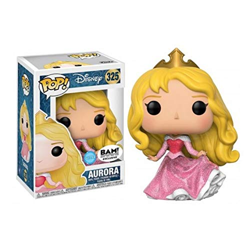 BAM Exclusive Disney Funko Pop! Vinyl - Aurora (with Glitter) (Funko Pop Disney Princess Aurora)