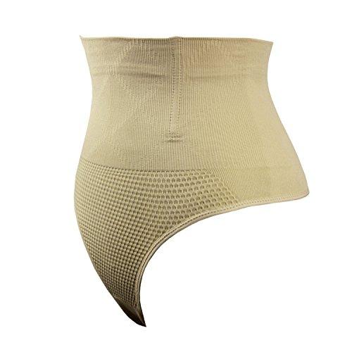Topmelon Shaper De Contrôle De Ventre Taille Haute Amincissant Shapewear De Beige Féminin
