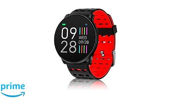 INNJOO Rojo Redondo SPORTWATCH TFT 1.33 Reloj Inteligente ...