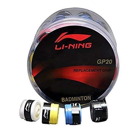ARFA Li-Ning GP-20 Foam Badminton Racket Grip (Assorted Colour) -Set of 4 Price & Reviews