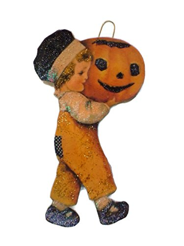 Antique Halloween Decorations - Halloween Ornament Decoration Jack O'Lantern