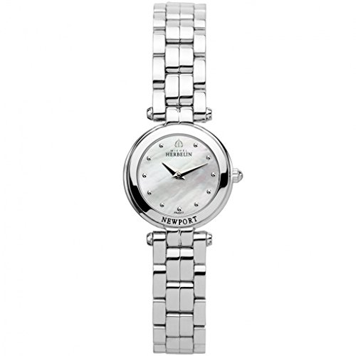 Lady's Watch - Michel Herbelin - Newport Yacht - Sapphire Crystal - 17455/B19