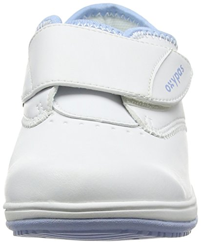 Oxypas Medilogic Emily Slip-resistant, Antistatic Nursing Shoe, White (Lbl), 5.5 UK (39 EU) blanco - White (Lbl)