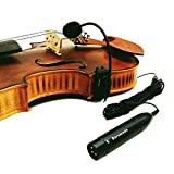 4/4 Acoustic Violin Fiddle Microphone Instrument