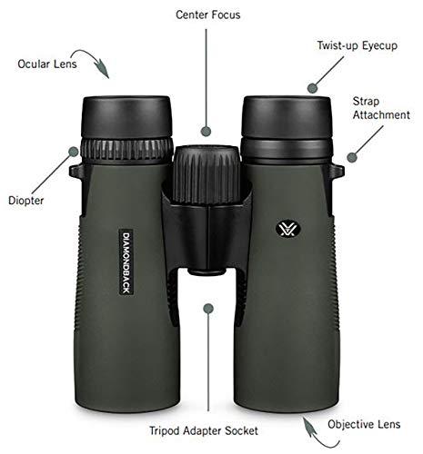 Vortex Optics Diamondback Roof Prism Binoculars 10×42