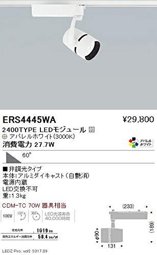 ENDO LEDスポットライト 配線ダクトレール用 CDM-TC70W形相当 3000K Ra95 超広角 白 ERS4445WA (ランプ付)   B0796KDN1Q