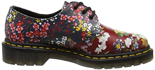 Mix Derby 1461 Floral Multi para Martens Backhand Multicolor Mujer Dr FC fBw7z7