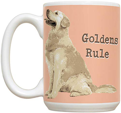 Golden Retriever 15oz Large Ceramic Mug |