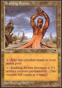 Magic: the Gathering - Stalking Stones - (Stalking Stones)