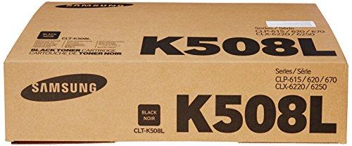 Free Samsung CLT-K508L Black Toner Cartridge 5K High Yield