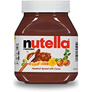 Nutella Chocolate Hazelnut Spread, Perfect Topping for Halloween Treats, 26.5 Ounce (Pack of 1)