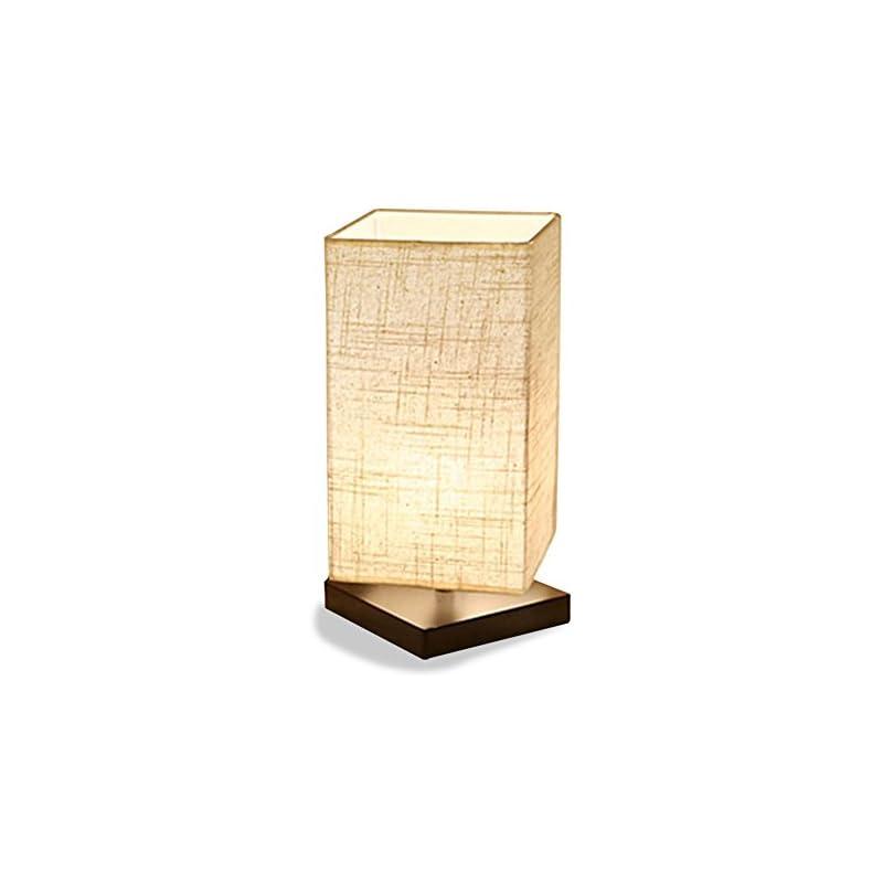 ZEEFO Simple Table Lamp Bedside Desk Lam
