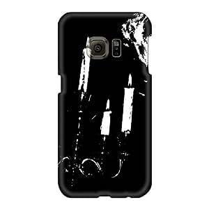 JamieBratt Samsung Galaxy S6 Shock-Absorbing Hard Phone Covers Support Personal Customs Vivid Grave Band Pattern [BtF15421GDwf]