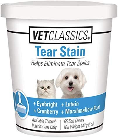 Vet-Classics-Tear-Stain-for-Dogs-&-Cats,-Helps-Eliminate-Tear-Stains-from-Eyes