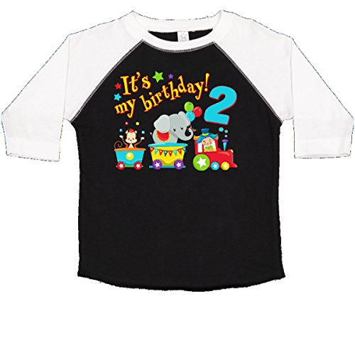 inktastic - Its My Birthday- Circus Toddler T-Shirt 3T Black and White 2e936