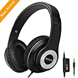Headphones,SMBOX Lightweight Wired Over-Ear Headsets Active Noise Cancelling Headphones for Cellphone/Computer/Laptop/iPad/Tablet/TV-Black