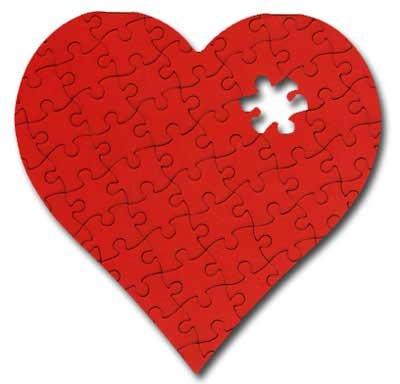 Valentine's Puzzle Die Cut Valentine's Day (Die Cut Valentine Card)