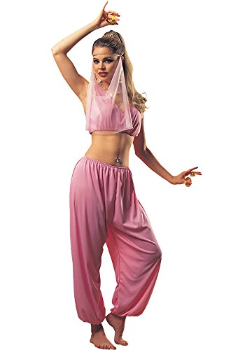 Cheap Princess Costumes For Adults (UHC Women's Harem Arabian Princess Outfit Adult Fancy Dress Sexy Costume, STD (Up to 12))