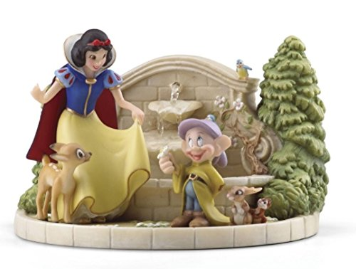"Lenox China ""Snow White's Charming Garden Fountain"" Review"