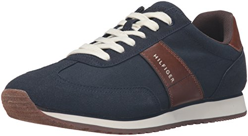 Tommy Hilfiger Mens Modesto Fashion Sneaker Blu Marino