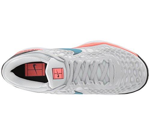 Pure 3 Zoom Tennis Nebula NIKE Blue Platinum Lava Hot Shoes Women's Cage Black qpHwRYt