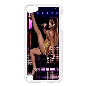 Unique Design -ZE-MIN PHONE CASE FOR Ipod Touch 5 -Singer Ariana Grande Pattern Pattern 14