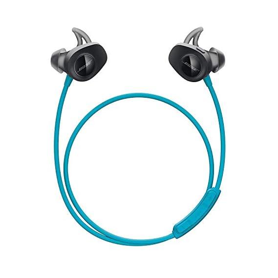 Bose SoundSport, Wireless Earbuds, (Sweatproof Bluetooth Headphones for Running and Sports), Aqua