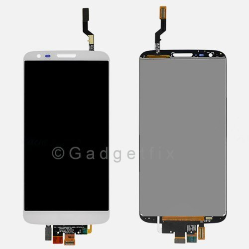 White LG Optimus G2 LS980 VS980 LCD Screen with Digitizer Touch Panel Assembly