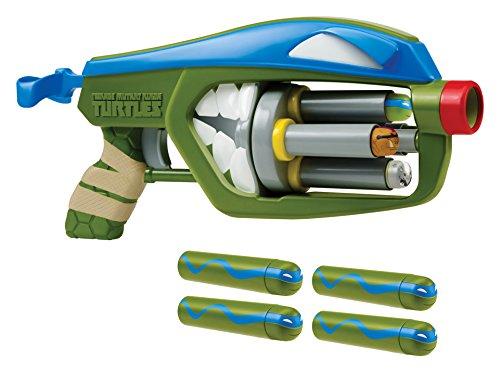Teenage Mutant Ninja Turtles T-Blasts Leonardo Quad Blaster (Ninja Turtles Toys New)