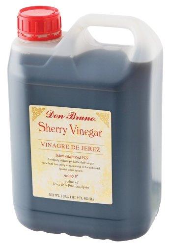 Don Bruno Sherry Vinegar 5 Liter (4 Pack)