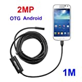 iWonow 2.0MP Android Endoscope Waterproof OTG Borescope with 1 Meter Cable for Samsung Galaxy S4 S5 S6 / S6 Edge S7 Note 2 3 4 5 (3.28 Feet)