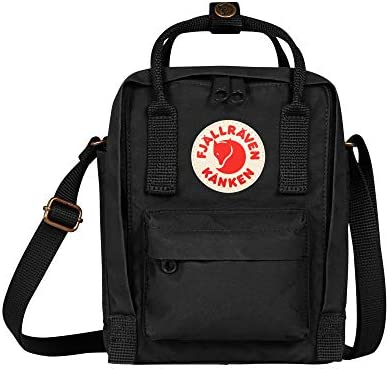 Fjallraven, Kanken Sling Crossbody Shoulder Bag for Everyday Use and Travel, Black