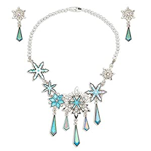 Best Epic Trends 41-e3csd98L._SS300_ Disney Elsa Jewelry Set Metallic