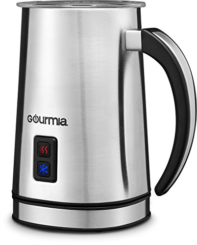 Best Buy! Gourmia GMF225 Cordless Electric Milk Frother & Heater for Extra Foamy Cappuccino, Latte &...