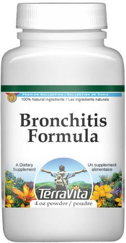 Price comparison product image Bronchitis Formula Powder - Agrimony,  Coltsfoot,  Mullein and More (4 oz,  ZIN: 512164)