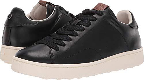 Coach Men's C101 Low Top Black 9.5 M US (Coach Men Black Shoes)