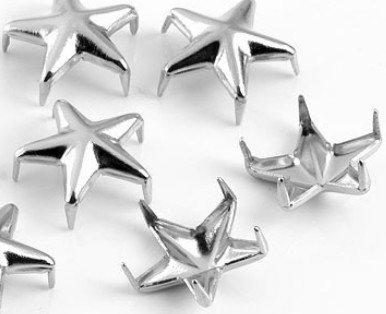 100pcs Silver Spikes Bracelet Copper product image
