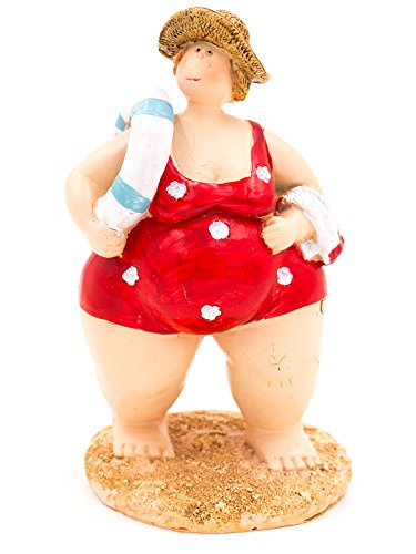 [Fat Lady in Swimming Costume Ornament (Red)] (Fat Lady Costumes)