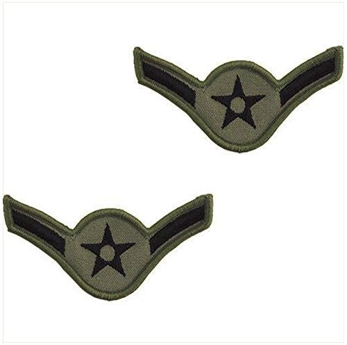 - Vanguard AIR FORCE EMBROIDERED CHEVRON: AIRMAN - LARGE ABU