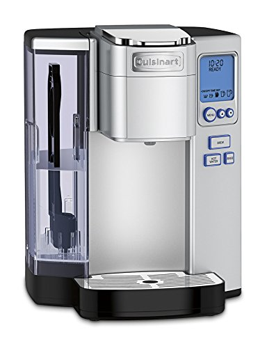 Cuisinart SS-10 Premium Single-Serve Coffeemaker, Silver (One Cup Filter Coffee Maker)
