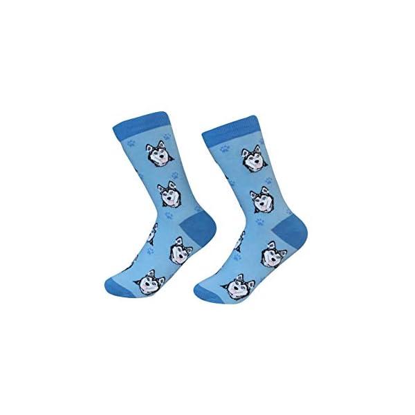 Siberian Husky Dog Breed Socks Unisex Sock Daddy by E&S Pets 1
