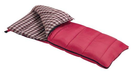 Wenzel Cardinal 30-Degree Sleeping Bag (Red), Outdoor Stuffs