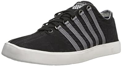 K-Swiss Men's The Classic Lite T Fashion Sneaker,Black,7 M US